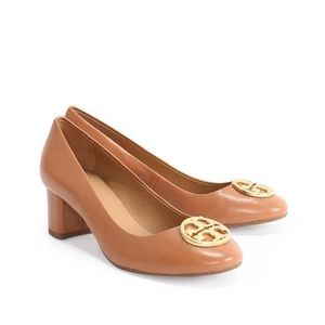 Tory Burch Chelsea 50mm Tan Pump